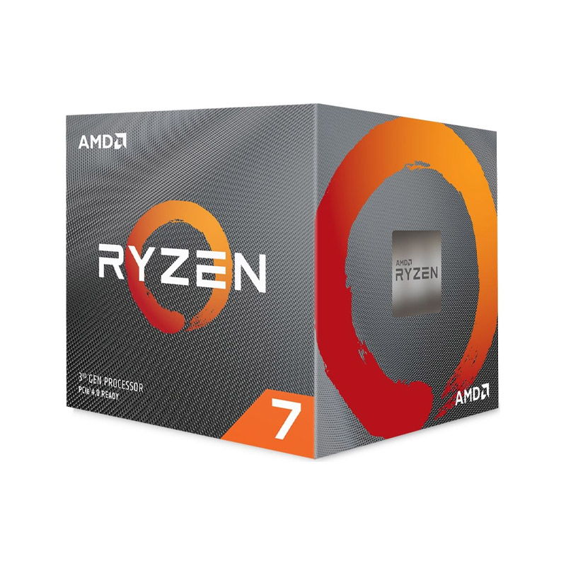 AMD Ryzen 7 3700X 8 Core AM4 3.6GHz CPU with Wraith Prism RGB Cooler