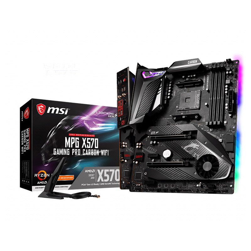 MSI MPG X570 Gaming Pro Carbon WiFi AM4 ATX Motherboard