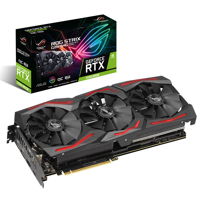 Asus GeForce RTX 2060 Super ROG Strix Gaming 8G OC Graphics Card