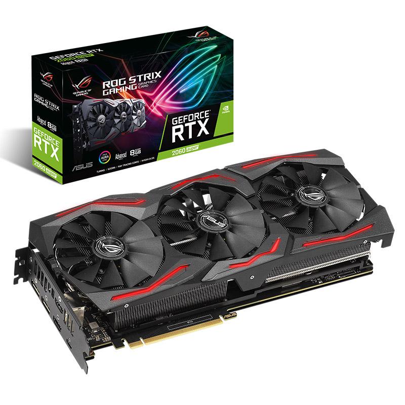 Asus GeForce RTX 2060 Super ROG Strix Gaming Advanced Edition 8G Graphics Card