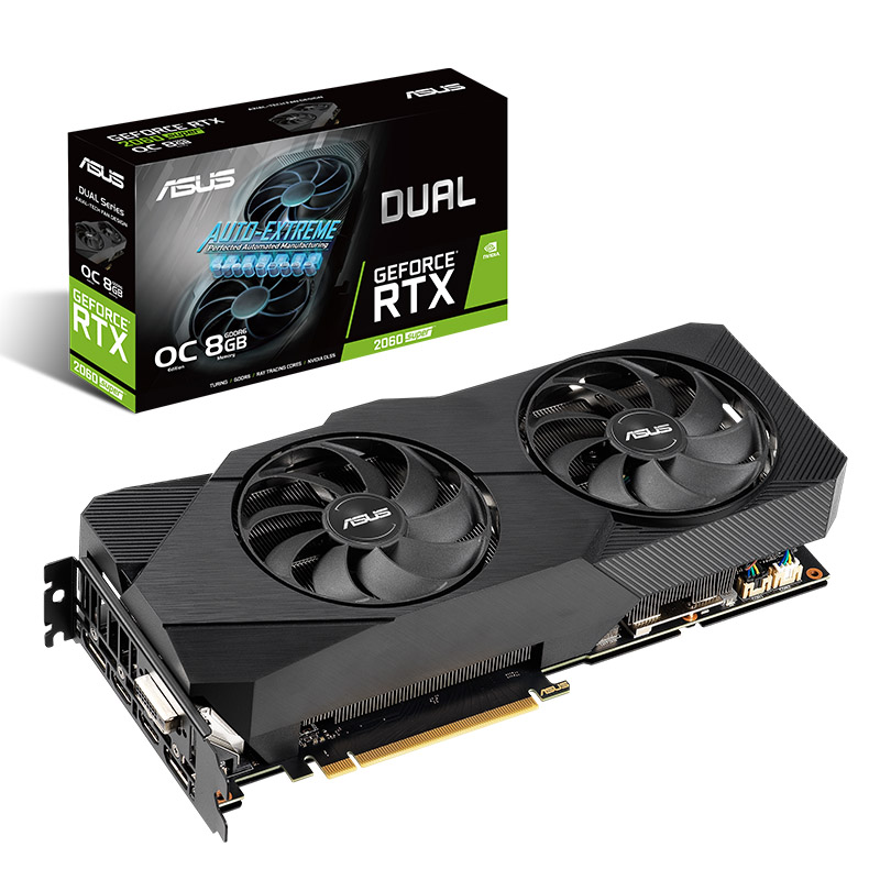 Asus GeForce RTX 2060 Super Dual Evo 8G OC Graphics Card