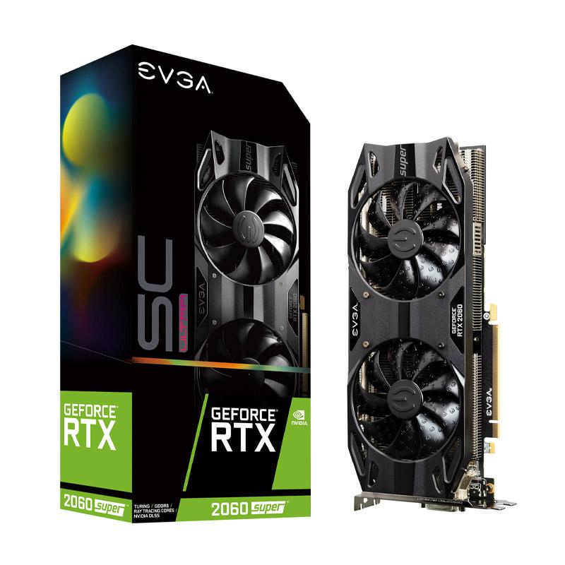 EVGA GeForce RTX 2060 Super SC Ultra Gaming 8G Graphics Card