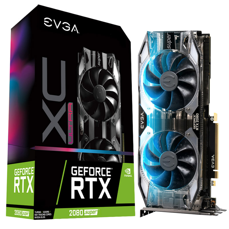 EVGA GeForce RTX 2080 Super XC Ultra Gaming 8G Graphics Card