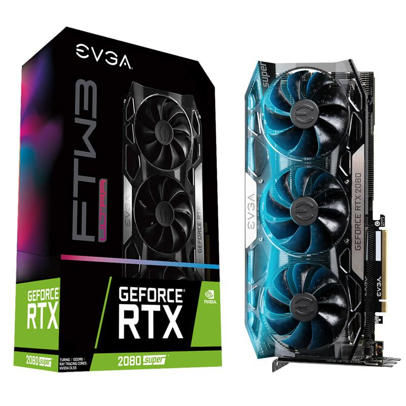 EVGA GeForce RTX 2080 Super FTW3 Ultra Gaming 8G Graphics Card