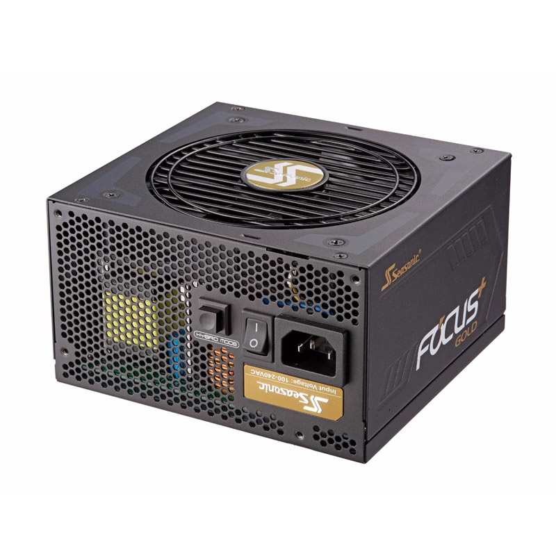Seasonic 650W Focus Plus 80+ Gold Modular Power Supply (SSR-650FX)