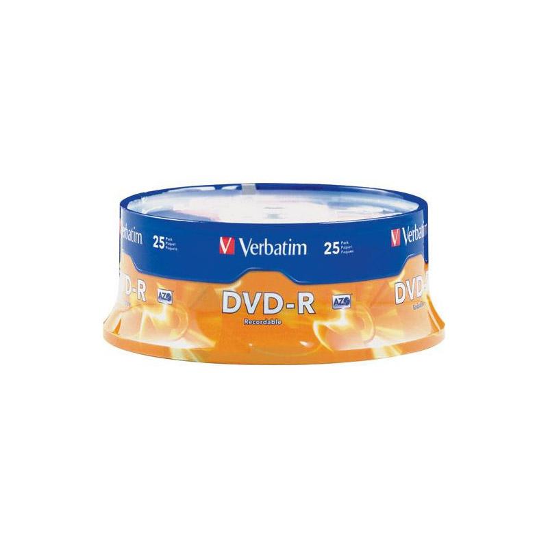 Verbatim DVD-R 4.7GB 25PK SPINDLE