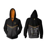 Fnatic Black XL Player Zipped Hoodie 2014