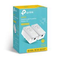 TP-LINK TL-PA4010PKIT AV600 Powerline Adapter with AC Pass Through Starter Kit