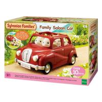 Sylvanian Familes Family Saloon Car - Red
