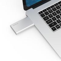 Orico mSATA SSD to USB3.0 Aluminium Enclosure - Silver (MSG-U3)