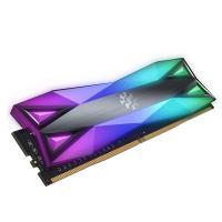 ADATA XPG 16GB (2x8GB) AX4U300038G16-DT60 Spectrix D60G 3000MHz RGB DDR4 RAM - Titanium Gray