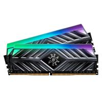 ADATA XPG 16GB (2x8GB) AX4U300038G16A-DT41 Spectrix D41 3000MHz RGB DDR4 RAM - Titanium Gray