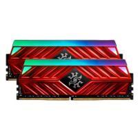 ADATA XPG 16GB (2x8GB) AX4U320038G16-DR41 Spectrix D41 3200MHz RGB DDR4 RAM - Red