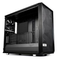 Fractal Design Meshify S2 Tempered Glass Dark Tint Mid Tower E-ATX Case - Blackout