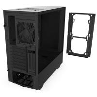 NZXT H510 Tempered Glass Mid Tower ATX Case - Matte Black
