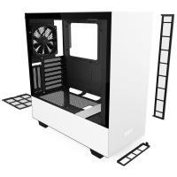 NZXT H510i Smart Tempered Glass Mid Tower ATX Case - Matte White