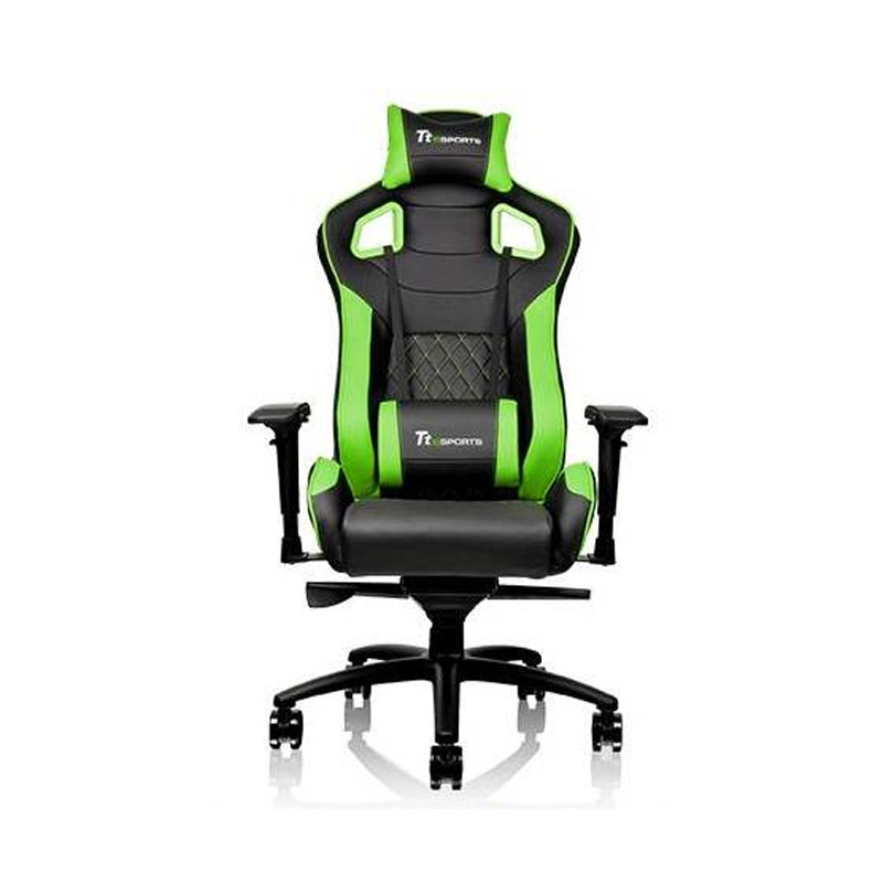 Thermaltake GTF100 Fit Series Gaming Chair Black/Green