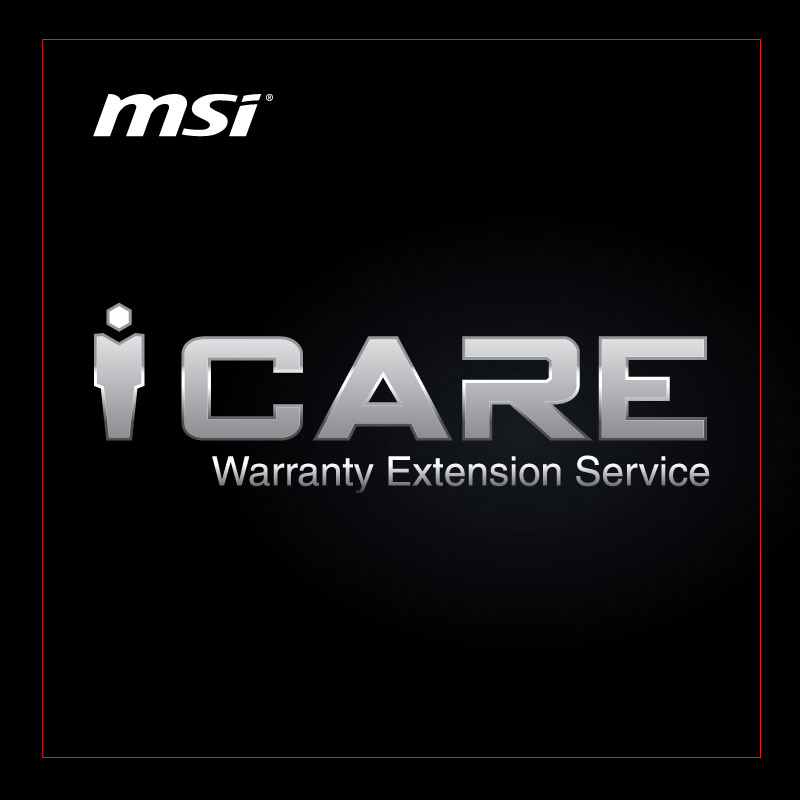 MSI 1 Year Extended Warranty for New MSI Desktop PC Models