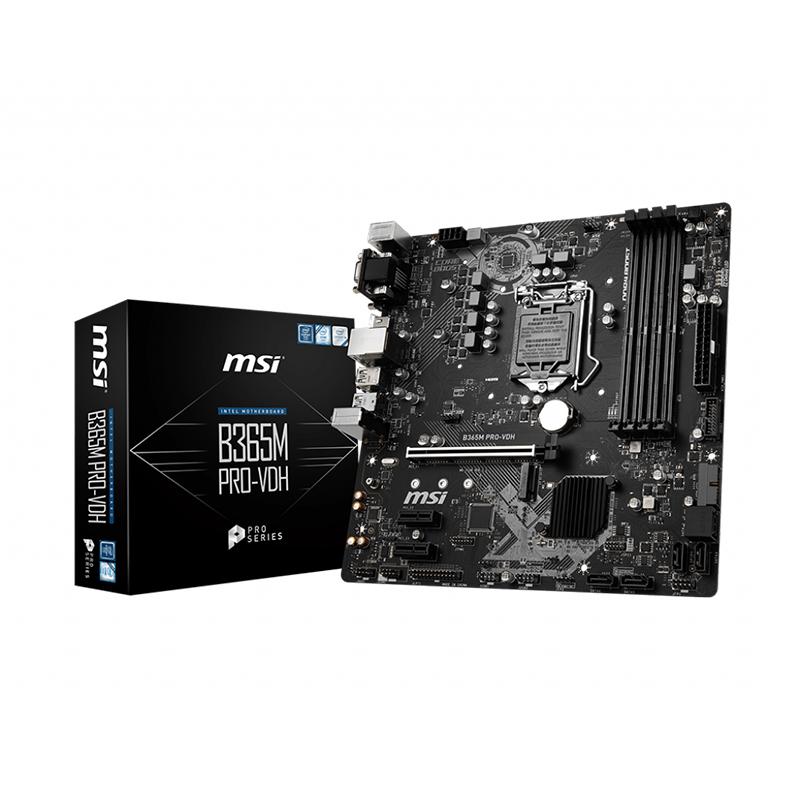 MSI B365M Pro-VDH LGA 1151 mATX Motherboard
