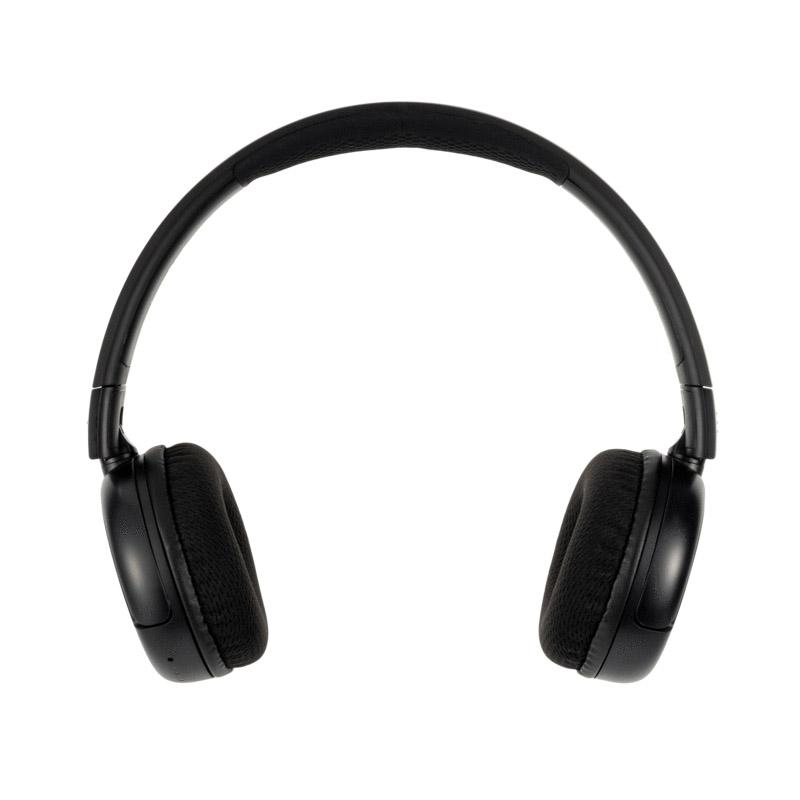 BuddyPhones Pop Volume Limiting Wireless Headphones - Black