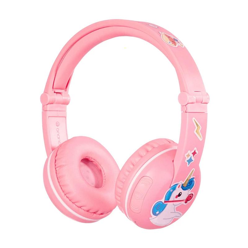 BuddyPhones Play Kids Volume Limiting Wireless Headphones - Pink Sakura