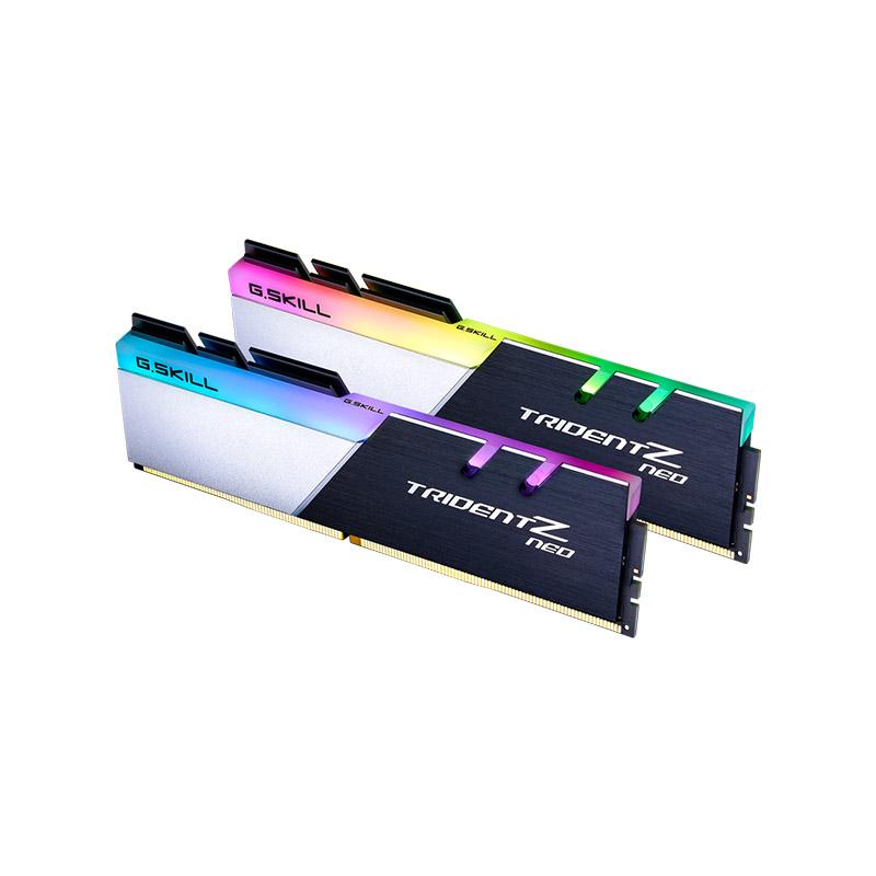 G.Skill 32GB (2x16GB) F4-3600C16D-32GTZNC Trident Z Neo C 3600MHz AMD RGB DDR4 RAM