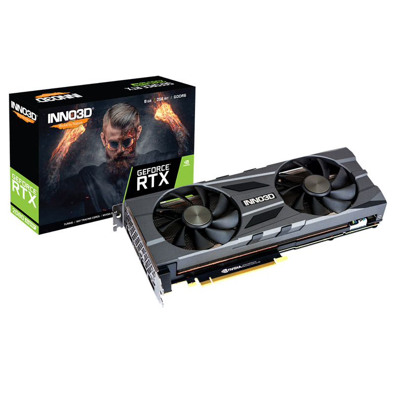 Inno3 GeForce RTX 2080 SuperTwinX2 OC 8GB Graphics Card