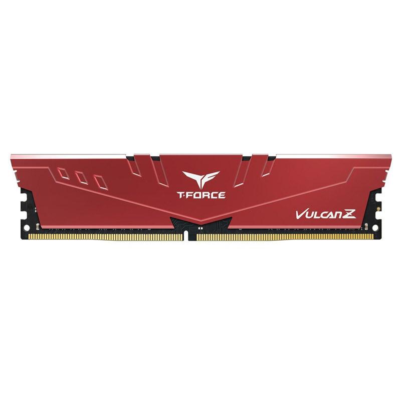 Team 8G TLZRD48G2666HC18H01 Vulcan Z Series 8G 2666MHz DDR4 Red