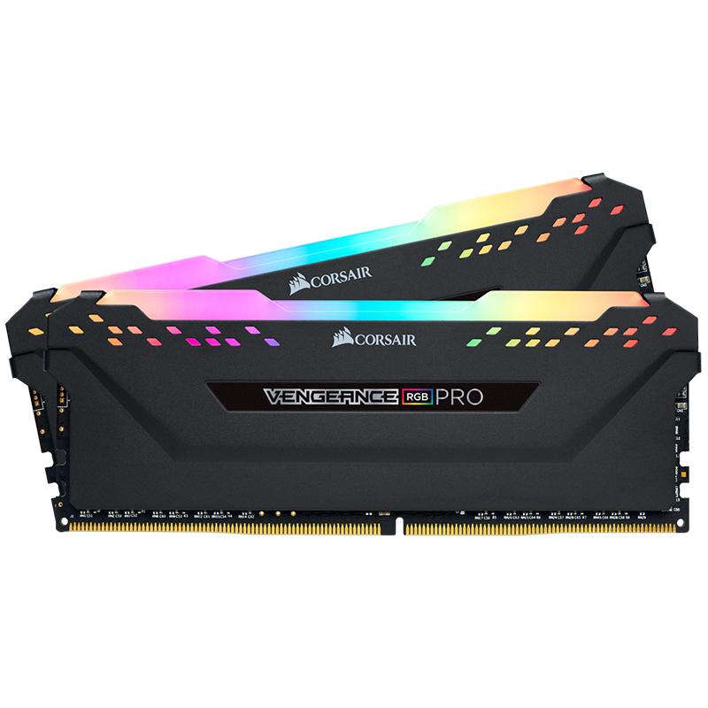 Corsair 32GB (2x16GB) CMW32GX4M2C3200C16 Vengeance RGB Pro 3200MHz DDR4 RAM