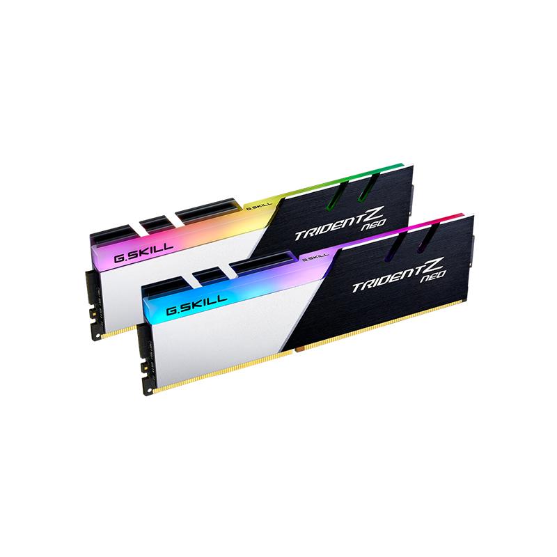 G.Skill 32GB (2x16GB) F4-3600C18D-32GTZN Trident Z Neo 3600MHz AMD RGB DDR4 RAM