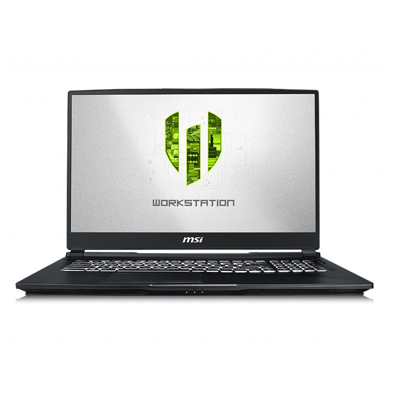 MSI WE75 17.3in FHD i7 9750H Quadro T2000 512GB SSD + 1TB HDD 16GB RAM W10P Workstation Laptop (WE75 9TJ-013AU)