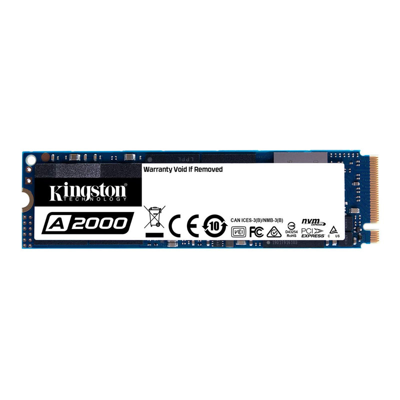 Kingston 500GB A2000 M.2 NVMe SSD