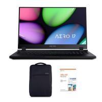 Gigabyte Aero 17.3in FHD 144Hz i7 9750H GTX 1660 Ti 512GB SSD Gaming Laptop (AERO17-SA-7AU1130SO)