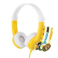 BuddyPhones Connect Kids Volume Limiting Headphones - Yellow