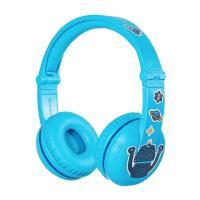 BuddyPhones Play Kids Volume Limiting Wireless Headphones - Blue Glacier