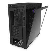 NZXT H710 Tempered Glass Mid Tower ATX Case - Matte Black