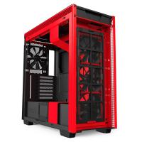 NZXT H710 Tempered Glass Mid Tower ATX Case - Matte Red