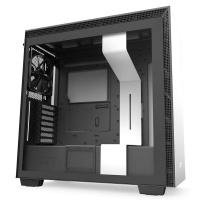 NZXT H710 Tempered Glass Mid Tower ATX Case - Matte White