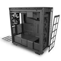 NZXT H710i Smart Tempered Glass Mid Tower ATX Case - Matte Black