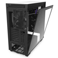 NZXT H710i Smart Tempered Glass Mid Tower ATX Case - Matte White