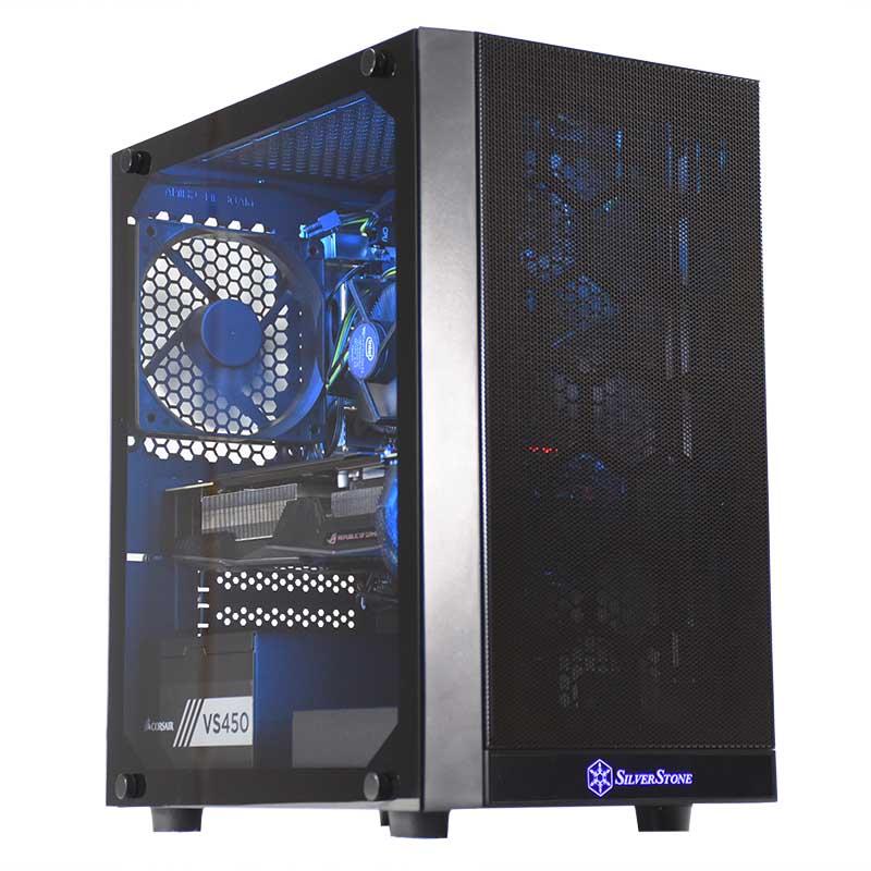 Umart Ophelia Intel i3 9100F RX 580 Gaming PC