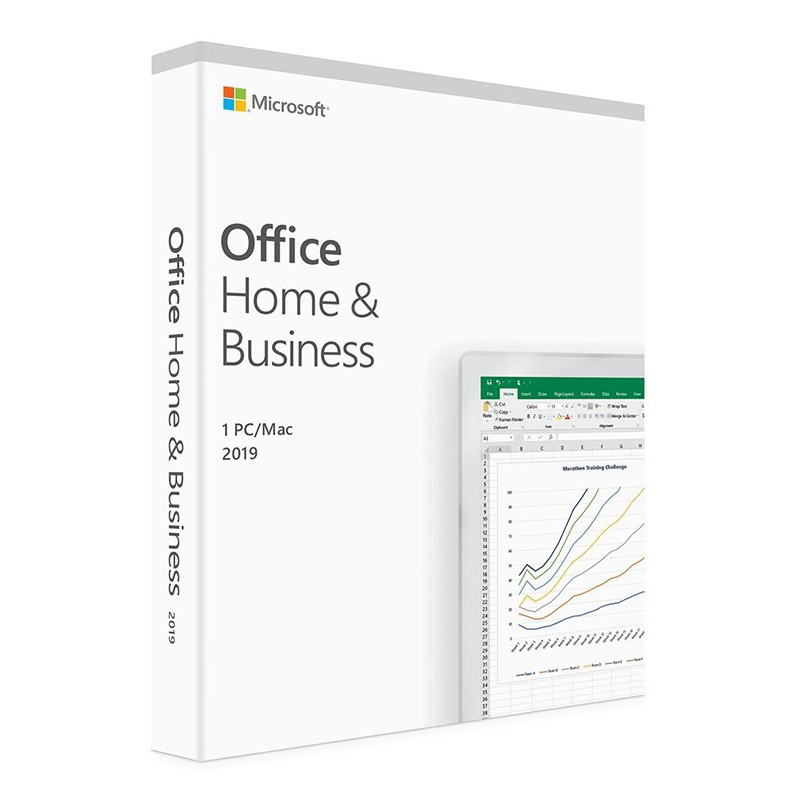 Microsoft Office 2019 Home and Business English APAC DM 1 License Medialess