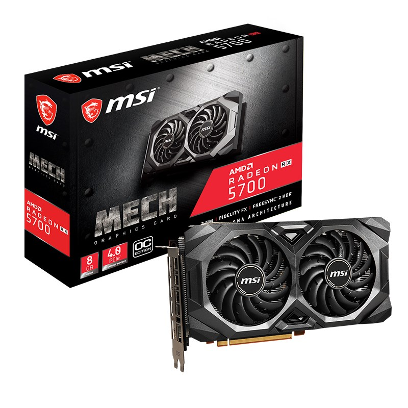 MSI Radeon RX 5700 MECH OC Graphics Card