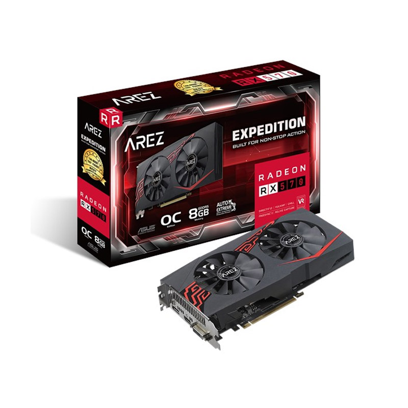 Asus Radeon RX 570 Expedition 8G OC Graphics Card