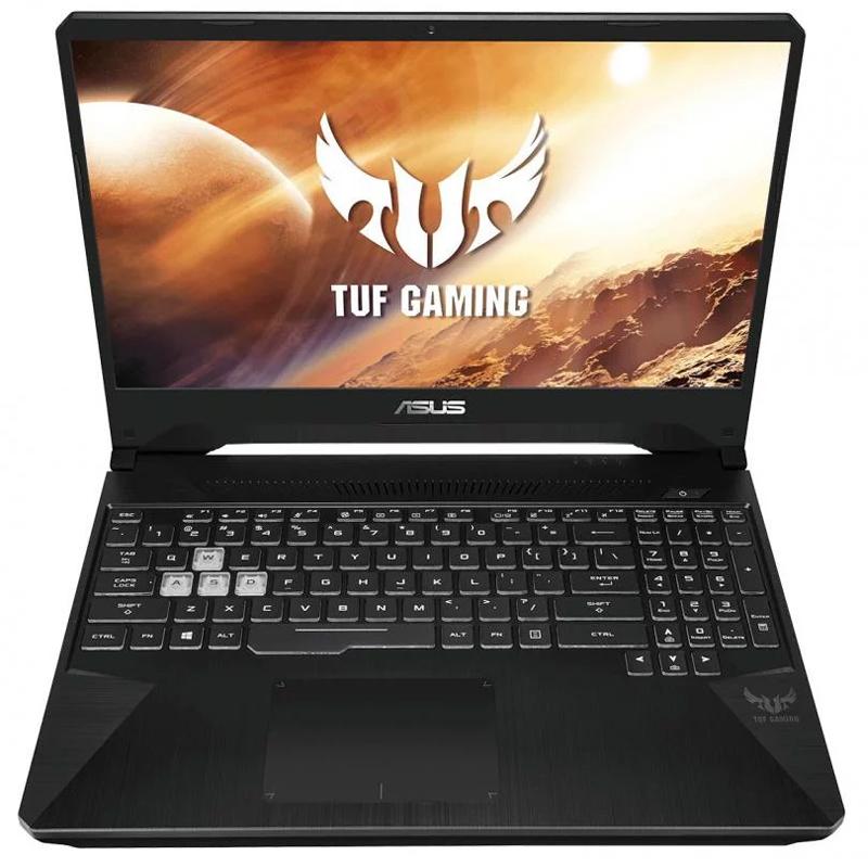 Asus ROG TUF15.6inch FHD 120Hz AMD Ryzen 7-3750H GTX1650-GDDR6 512G SSD 8GB RAM W10H 2YR Gaming Laptop (FX505DT-AL043T)