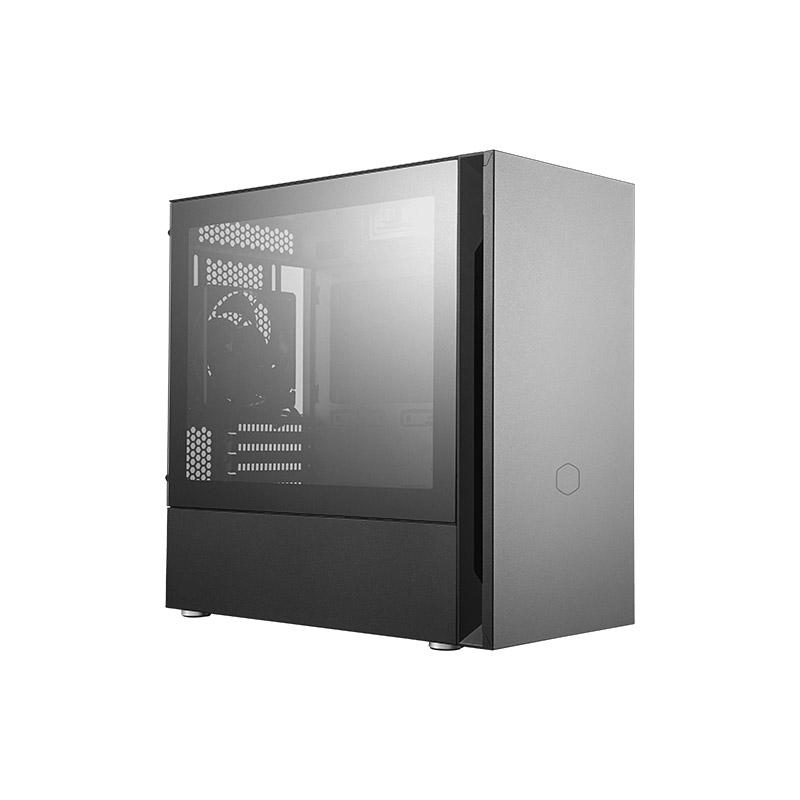Cooler Master Silencio S400 Tempered Glass Silent Mid Tower mATX Case
