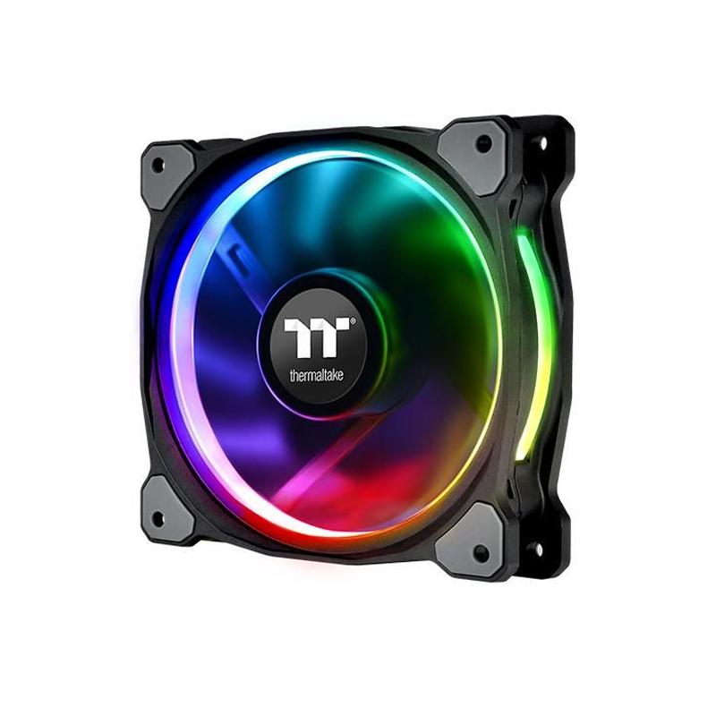 Thermaltake 120mm RGB Riing Plus 3 Pack and 3 Lumi Plus RGB Strips Combo Kit