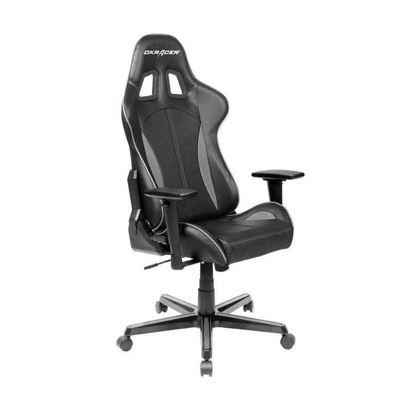 DXRacer Formula FL57 Gaming Chair Black - Carbon Grey