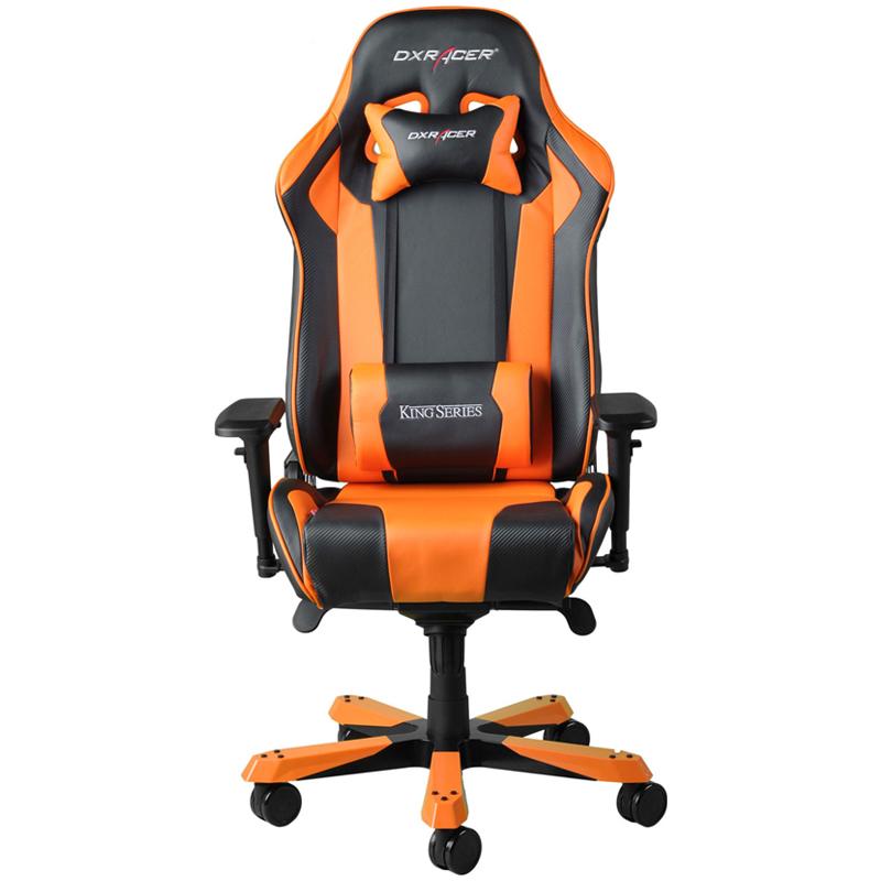 DXRacer King KS06 Gaming Chair Black - Orange