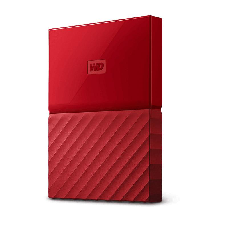 Western Digital 4TB My Passport USB3.0 External Hard Drive Red